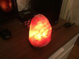 Himalayan salt lamp benefits,glow