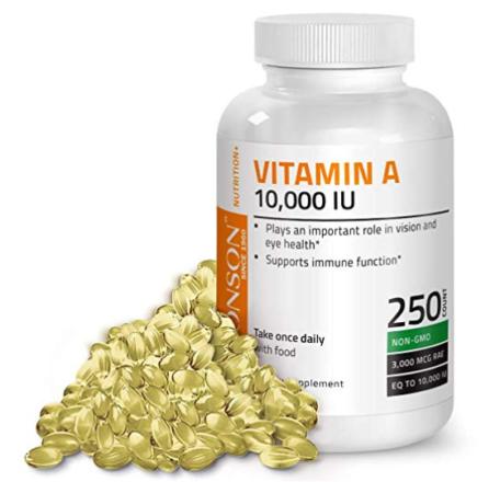 Vitamin A, supplements