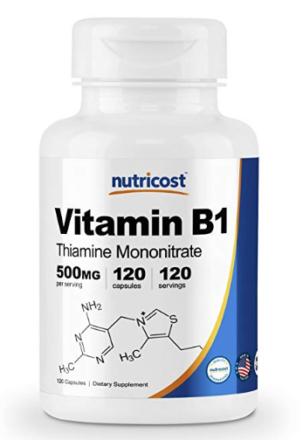 Vitamin B1,Thiamin,supplements