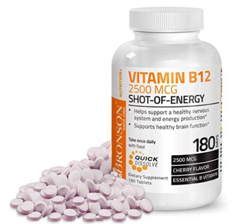 Vitamin B12, supplements
