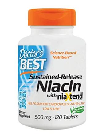 Niacin, vitamin B3, supplements