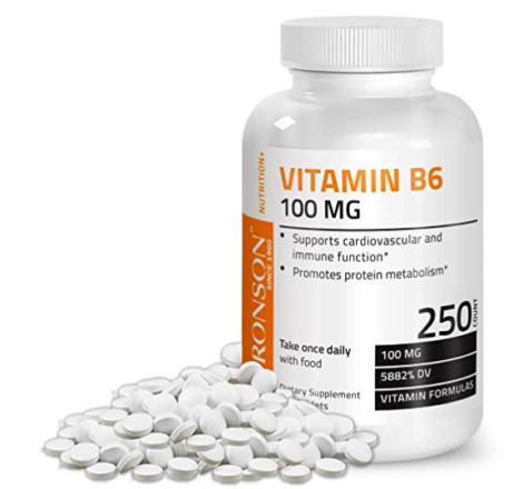 Vitamin B6, supplements