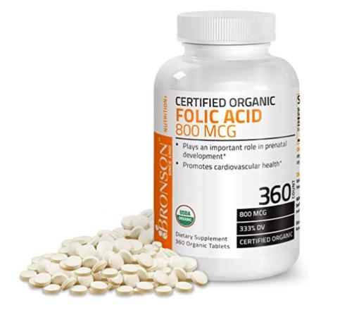 Folic Acid, vitaminB9, supplements