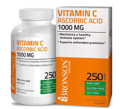 Vitamin C, supplements