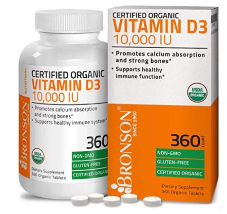 Vitamin D, supplements