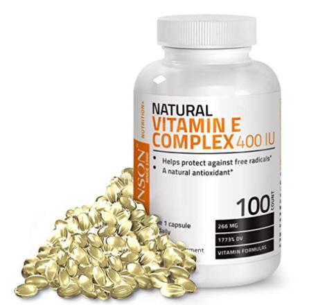 Vitamin E, supplements