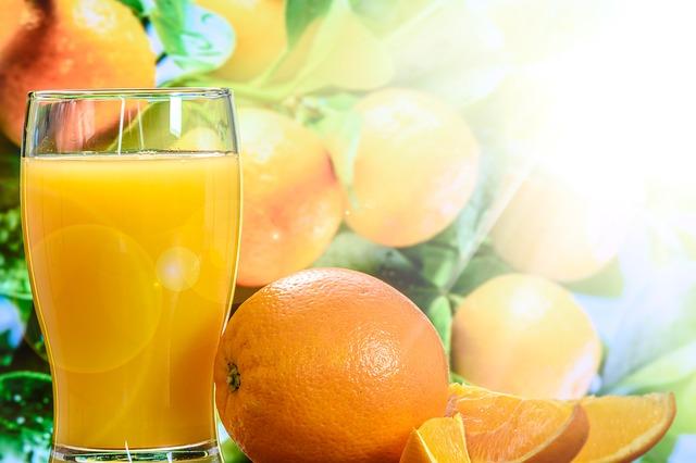 Orange Juice, vitamin C