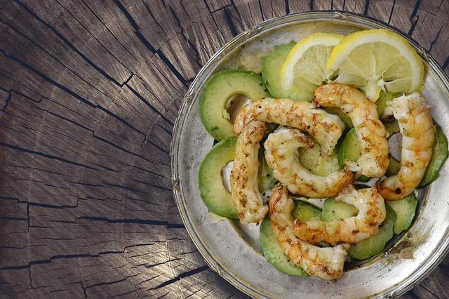 seafood,avocado,Pantothenic Acid