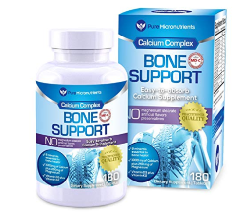 Calcium,supplement,bone support