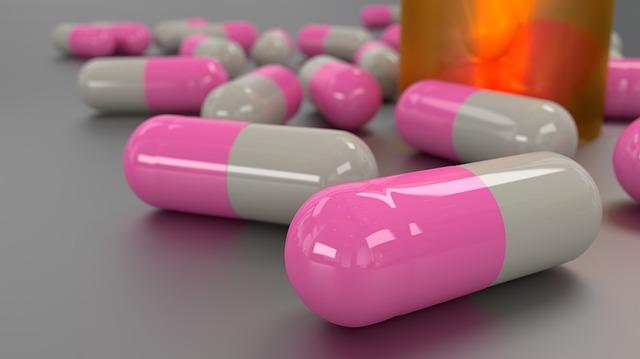 minerals, capsules