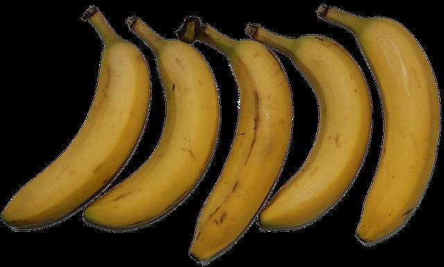 Potassium,mineral,banana