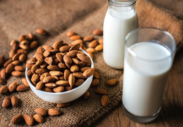 milk,almonds,calcium,mineral