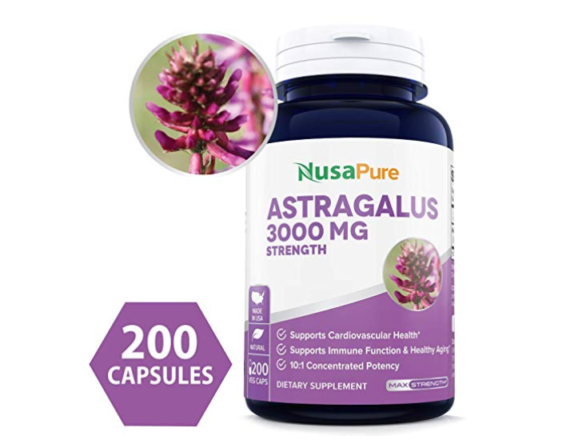 Astragalus supplement,immune system booster